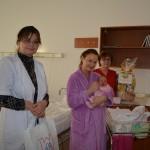 Janka, a váci kórházban elsőként született újévi baba